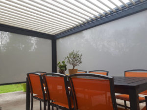 Photo pergola et mobilier de plein air