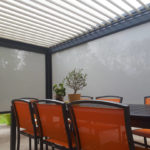 Photo pergola et mobilier de plein air